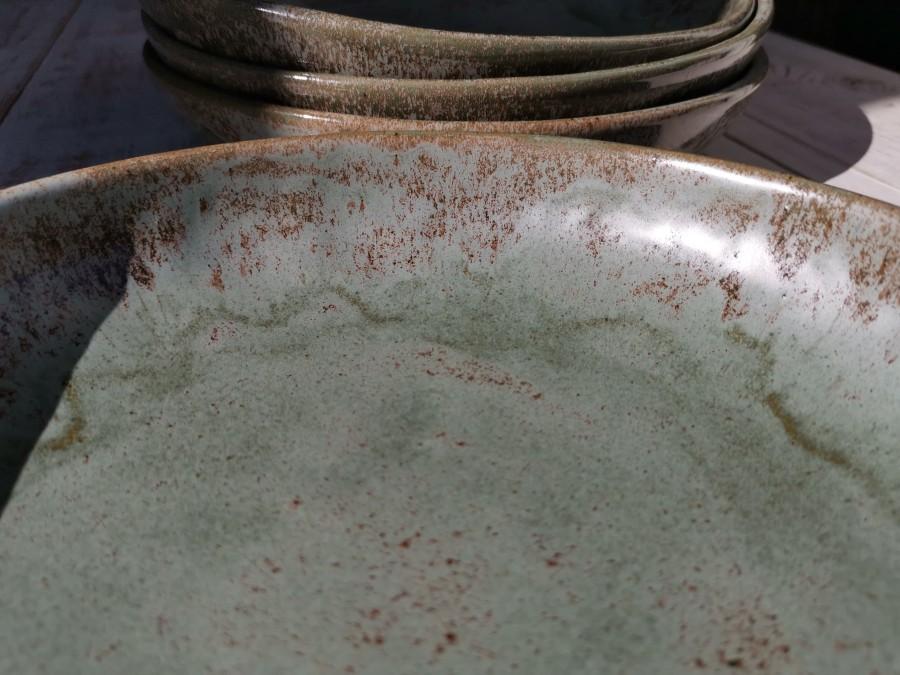 NAUJIENA/KALNŲ pilka gili lėkštė