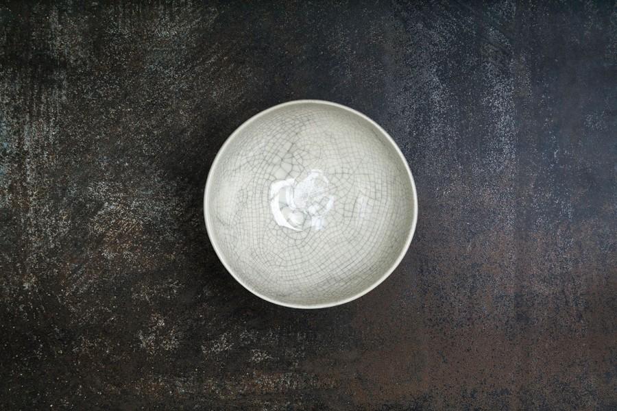 KRAKLĖ  baltas dubenėlis