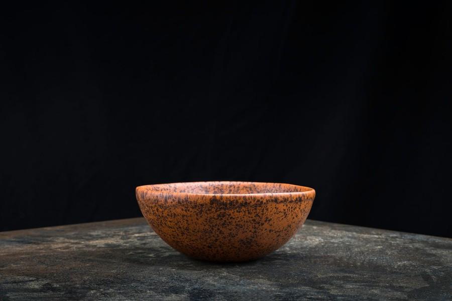 MEŠKOS rudas dubenėlis